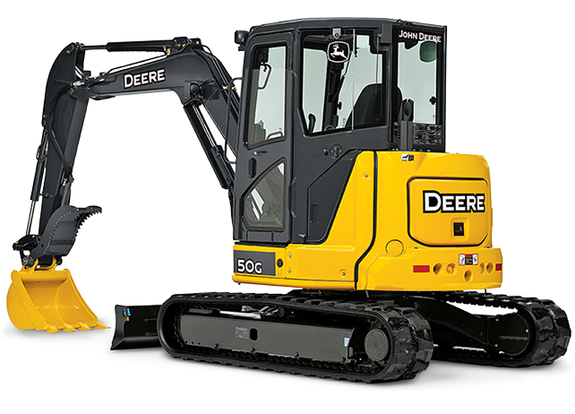 John Deere 50g Mini Excavator Rental Amp Rates