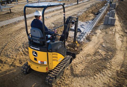 John Deere 17d Mini Excavator Rental Amp Rates