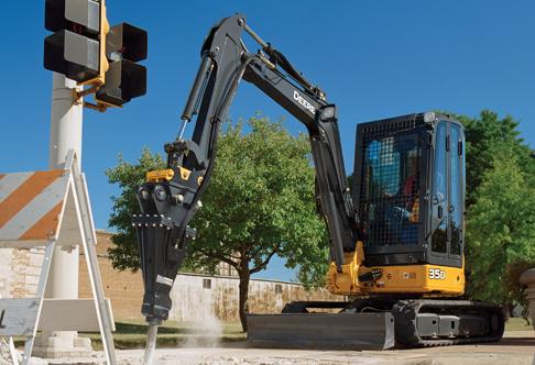 John Deere 35D Mini Excavator Rental & Rates