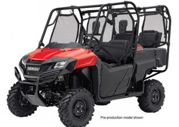 Rent a 4 seater Honda Pioneer XUV side by side in BC