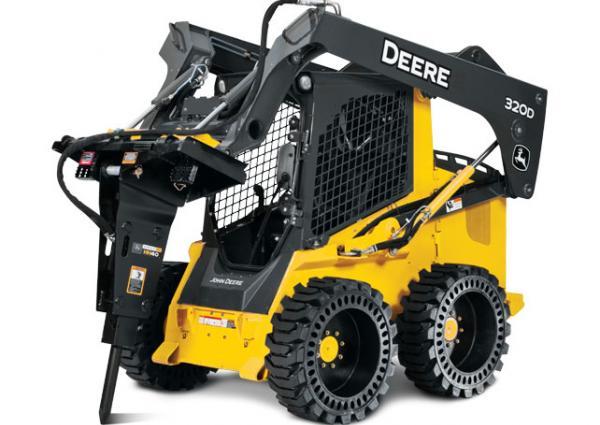 John Deere HH40 Hydraulic Hammer Breaker Rental Vancouver