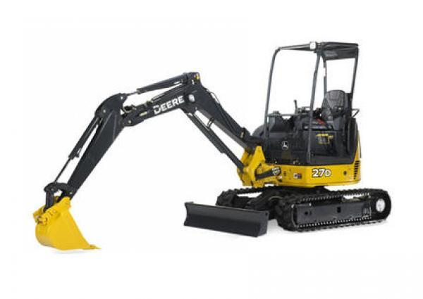 John Deere 245 Excavator Specs : John deere d mini excavator rental rates