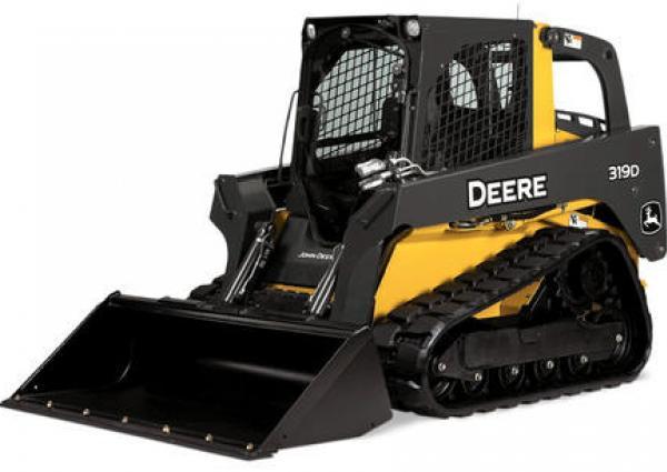 John Deere 319D Compact Track Loader Rental Surrey