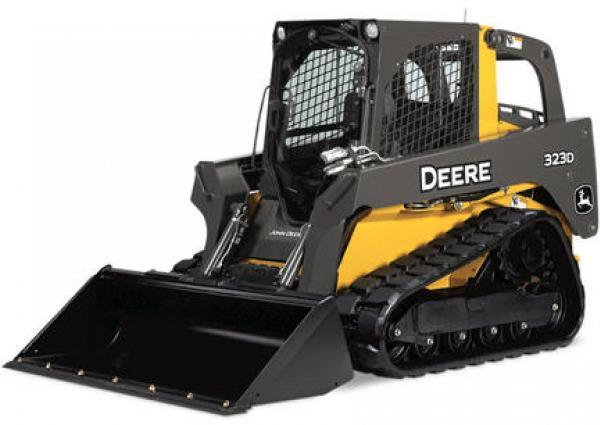 John Deere 323D Compact Track Loader Rental Vancouver