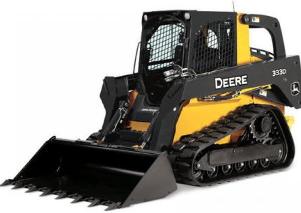 John Deere 333D Compact Track Loader Rental Langley