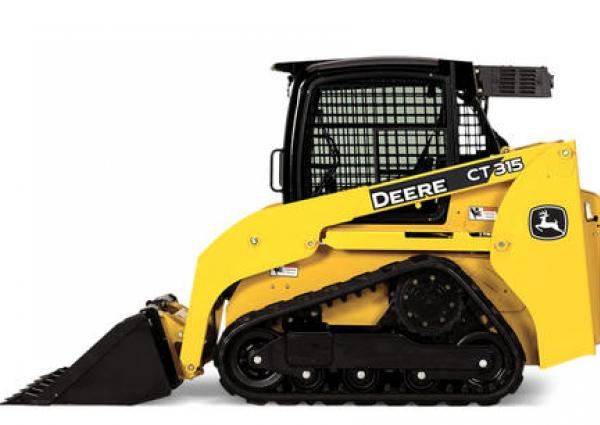 John Deere CT315 Compact Track Loader Rental Coquitlam