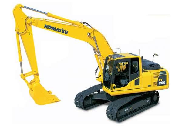 Komatsu PC 200 LC Excavator Rental