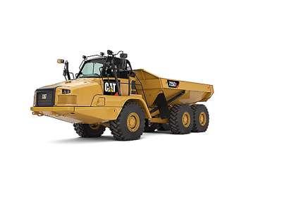 CAT 725C2 Dump Truck Rental