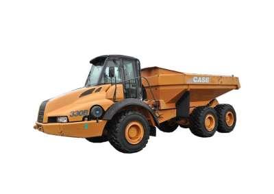 Case 330B Dump Truck Rental