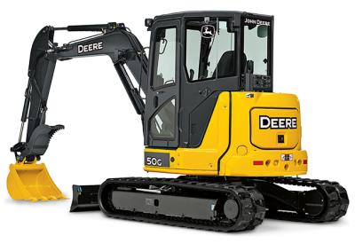 John Deere 50G Mini Excavator Rental Surrey