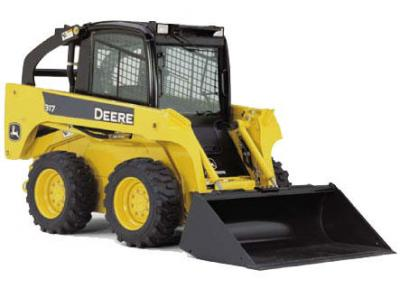 John Deere 317D Skid Steer Rental Burnaby