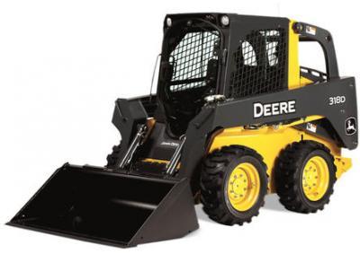 John Deere 318D Skid Steer Rental Richmond