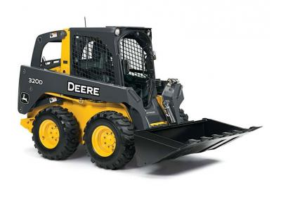 John Deere 320D Skid Steer Rental Burnaby