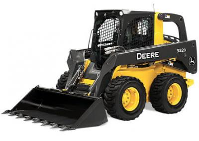 John Deere 332D Skid Steer Rental Port Moody