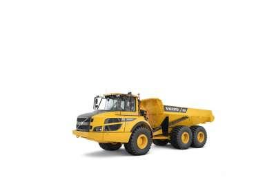 Volvo A25G Dump Truck Rental